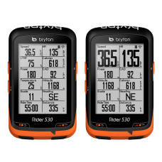Bryton Rider 530T GPS computer (+HRM + COMBO sensor)