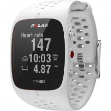 Polar M430 GPS futó óra, fehér