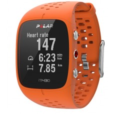 Polar M430 GPS futó óra, narancs
