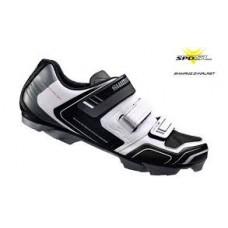 Shimano XC31 kerékpáros SPD cipő, fehér-fekete