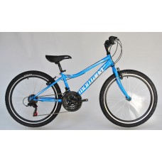 Trans Montana MTB 24 Junior Acél kék/fehér